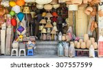 a handmade shop with products...   Shutterstock . vector #307557599
