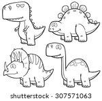 vector illustration of... | Shutterstock .eps vector #307571063