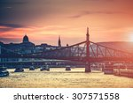 Evening View On Budapest From...