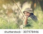 Little Fisher Girl Smiles...