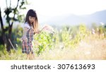vintage color and soft focus... | Shutterstock . vector #307613693