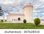 arevalo castle in avila ... | Shutterstock . vector #307628510