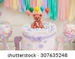 Candy Bar In Pastel Colors For...