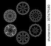 set of gears   Shutterstock .eps vector #307679180