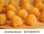 Close Up Of Yellow Raspberry O...