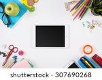education hero header mockup | Shutterstock . vector #307690268