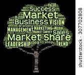 concept or conceptual green... | Shutterstock . vector #307702808