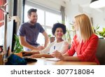 business  startup and people... | Shutterstock . vector #307718084