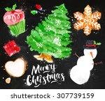 Christmas Symbols With...