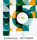 semicircle triangle pattern....