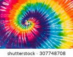 Abstract Swirl Design Tie Dye