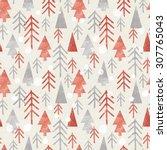 Seamless Christmas Pattern On...