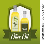 olive oil digital design ... | Shutterstock .eps vector #307795730