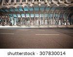 city road ironbridge of night... | Shutterstock . vector #307830014