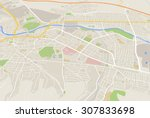 map | Shutterstock . vector #307833698