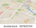 map   Shutterstock . vector #307833704