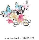 illustration of a decorative... | Shutterstock .eps vector #30785374
