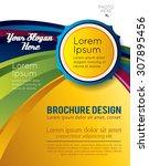 stylish presentation of... | Shutterstock .eps vector #307895456