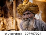 jaisalmer  india   march 22  ...   Shutterstock . vector #307907024