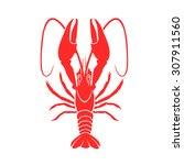 shrimp vector | Shutterstock .eps vector #307911560