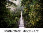 Suspension Bridge In North...