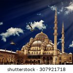 istanbul the capital of turkey  ... | Shutterstock . vector #307921718