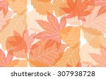 Seamless Autumn Pattern With...