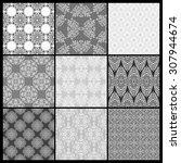 set of abstract wallpaper.... | Shutterstock . vector #307944674