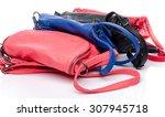 different colored handbags ... | Shutterstock . vector #307945718