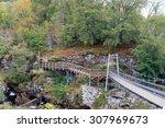 Walkway Bridge At Rogie Falls   ...