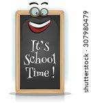 it's school time  illustration...