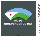 happy independence day of...   Shutterstock .eps vector #308004533