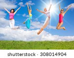 green day happy friends  | Shutterstock . vector #308014904
