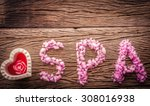 blurred of spa   aromatherapy... | Shutterstock . vector #308016938