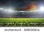 the beginning of a football... | Shutterstock . vector #308030816