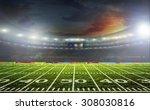 the beginning of a football... | Shutterstock . vector #308030816
