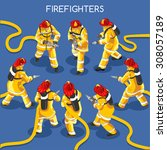 Hero Firefighter Hydrant Fire...