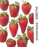 the strawberries   Shutterstock . vector #3080744