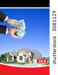 house sold | Shutterstock . vector #3081129