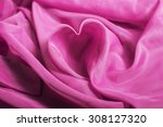 love pink abstract background ... | Shutterstock . vector #308127320