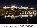 hradcany night | Shutterstock . vector #308134343