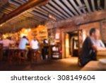 defocused blur of scene inside...   Shutterstock . vector #308149604