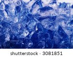 blue crushed ice | Shutterstock . vector #3081851