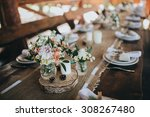 decorations made of wood and... | Shutterstock . vector #308267480