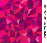 Purple Pink Polygon Background