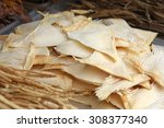 dried shark fin food ingredient ... | Shutterstock . vector #308377340
