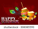 easy to edit vector... | Shutterstock .eps vector #308385590