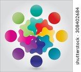 vector concept engagement ...   Shutterstock .eps vector #308402684