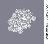 Lace Floral Background...