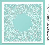 template frame design for... | Shutterstock .eps vector #308426738